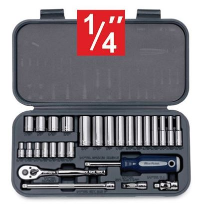 "Picture of XXMAR222 1/4"" 27pc Socket Set"